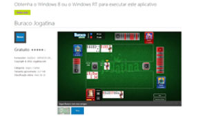 App Buraco_Windows 8