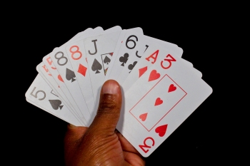 buraco cartas na mao